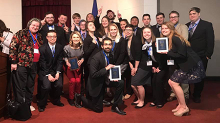 2018 Iowa State European Union competition team