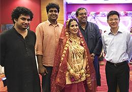 Bhattacharjee, Subhra wedding