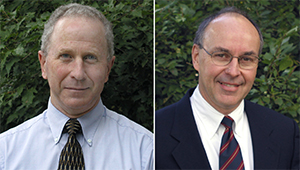 Emeritus Professors William Edwards and Robert Jolly