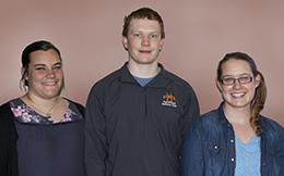 Photo of scholarship winners