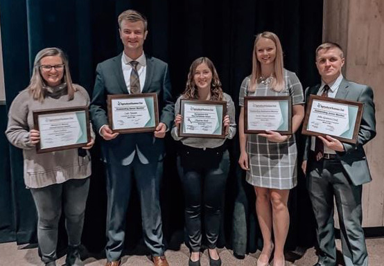 Ag Bus Club awardees