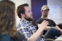 Steven Brockshus received help from the Ag Entrepreurship Initiative.