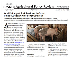 2018 Ag Policy Review