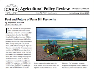 Winter 2017 Ag Policy Review