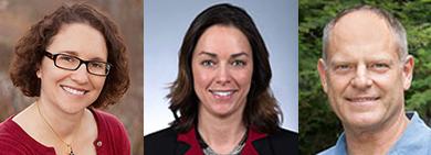 Dr. Georgeanne Artz, Dr. Keri Jacobs, Dr. Christian Boessen
