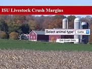 ISU Livestock Crush Margin app