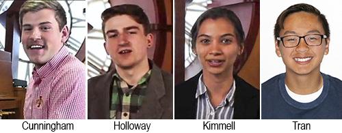 Casey Cunningham, Marcus Holloway, Nathalia Kimmell, Thu Tran