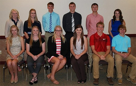 Landus scholarship winners