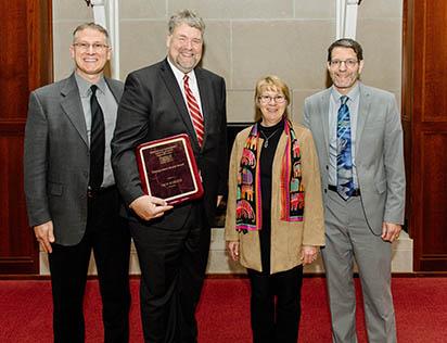 Econ and Hist dept Distinguished Alumni Award