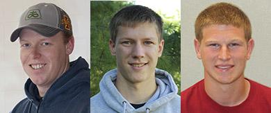Joshua Nehring, James Leonard, Trent Taglauer