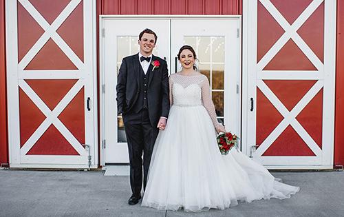 Jake Smith and Lauren Johnson