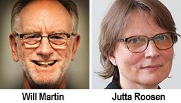 Will Martin, Jutta Roosen