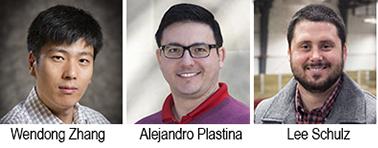 Wendong Zhang, Alejandro Plastina, Lee Schulz