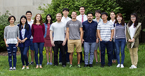 2017 First year grad students