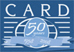 CARD 50 years logo