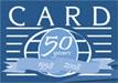 CARD 50 years logo