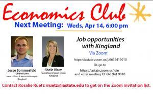 Econ club meeting
