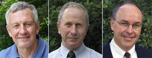 Dr. John Scroeter, Dr. William Edwards, Dr. Robert Jolly