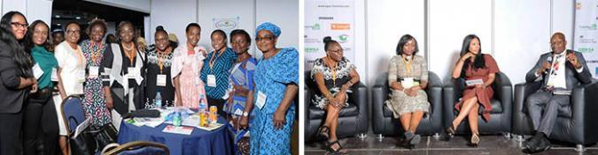 Ebby Luvaga presentation, Lagos, Nigeria