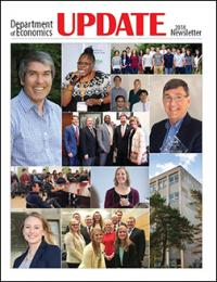 Department of Economics Update newsletter