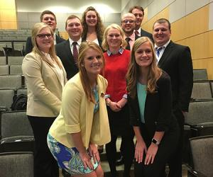New Agricultural Business Club officers