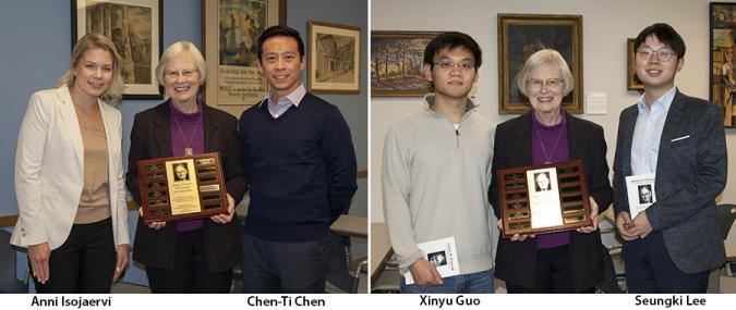 Prescott awardees