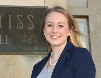 CALS Senior Award winner Lauren Sendelbach