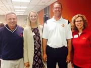 Swanson family honored at Cyclone family weekend