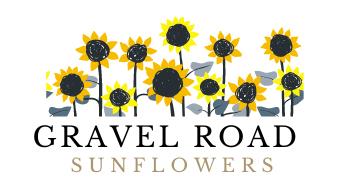 Gravel Road Sunflowers