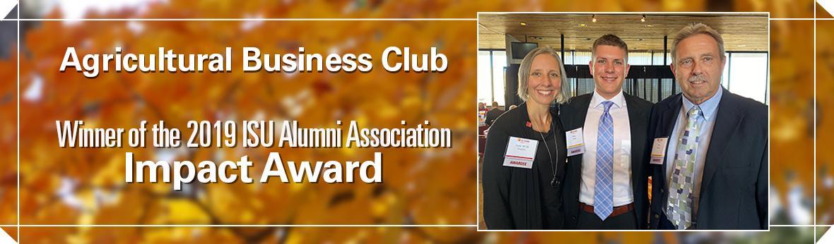 Ag Bus Club wins Impact Award