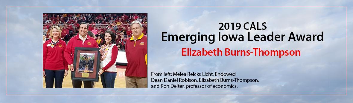 Emerging Iowa Leader Award