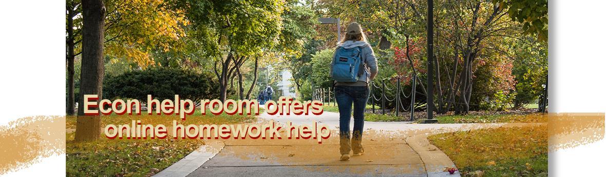 Econ online help room