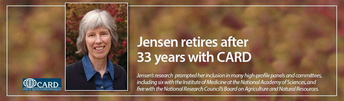 Jensen retires after 33 years with CARD