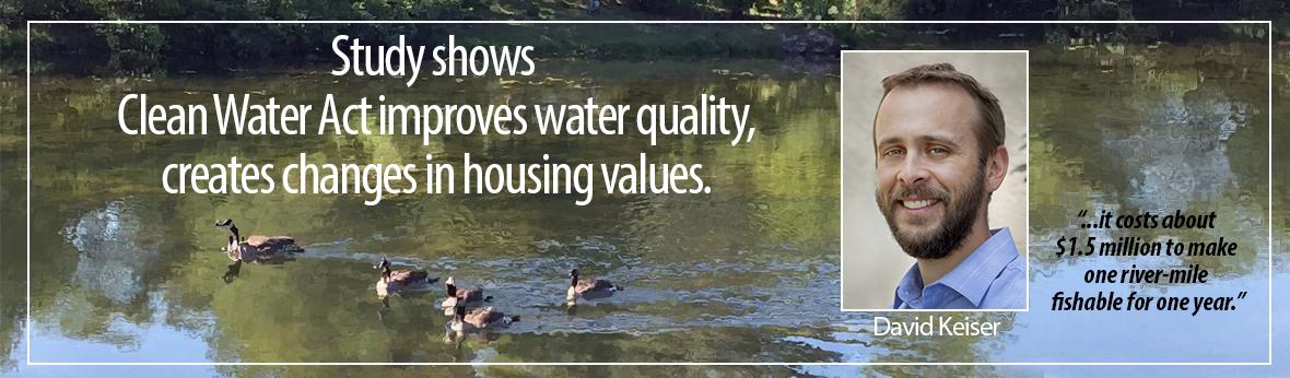 Study show CWA improves water quality