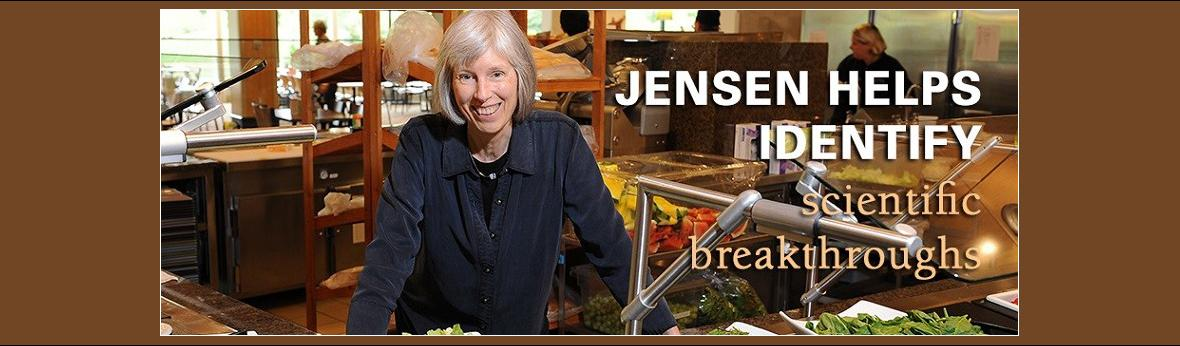 Jensen helps identify scientific breakthroughs