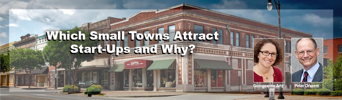 Which Small Towns Attract Start-Ups?