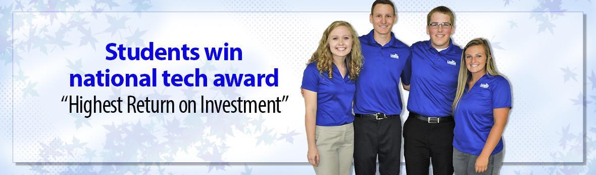 CALS Students win national tech award