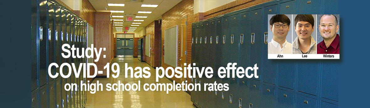 COVID -19 has positive effect on H.S. completion rates
