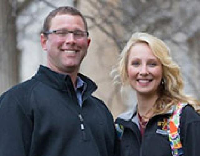 Stuart Swanson and daughter Adelai