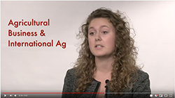 Celeste Swanson - Agricultural Business video screenshot